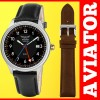 Aviator GMT - 24 ore cadran